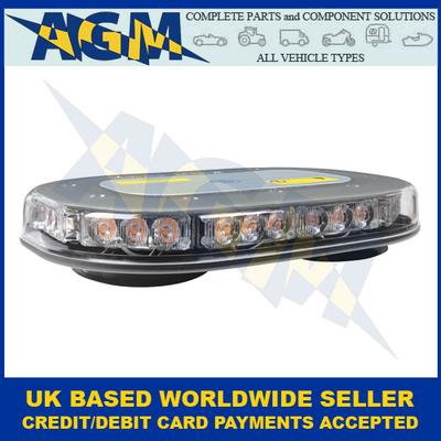 Guardian AMB205, Low Profile,Magnetic Mount, R65, LED Light Bar, 12/24V