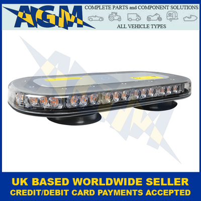 Guardian AMB207 Low Profile Magnetic Mount R65 LED Light Bar 12/24V