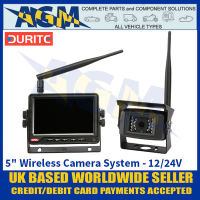 "Durite 0-775-41 5"" 2-Channel Wireless Camera System - 12/24V"