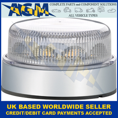 HELLA 2XD 012 980-001, Low Profile, LED, Strobe Beacon, 12/24v