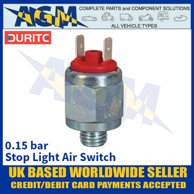 Durite 0-579-60 Stop Light Air Switch - 0.15 bar