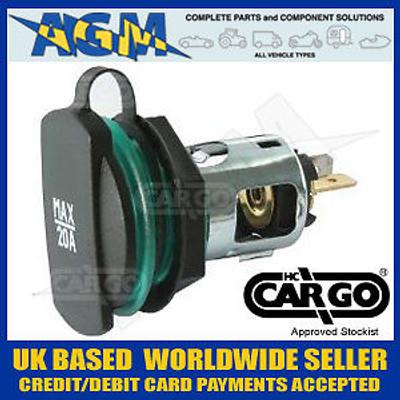 Cargo 160409 Auxillary Power Socket 20 Amp 12 or 24 Volt