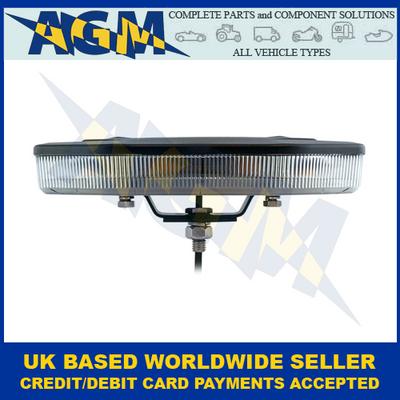 LED AutoLamps EQBT251R10A, Mini, Amber, LED Lightbar, Single-Bolt, R10, 10-30VDC