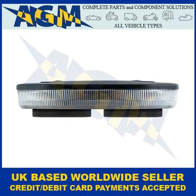 LED AutoLamps EQBT251R10A-MM, Mini, LED Lightbar, Magnetic Mount, R10