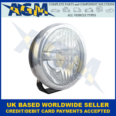 LED AutoLamps DL207, 8 Inch, Round, LED, Driving Lamp, 12/24V