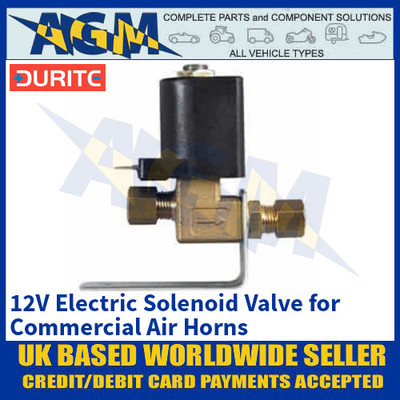 Durite 0-642-62 12V Electric Solenoid Valve for Commercial Air Horns