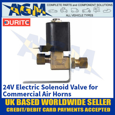 Durite 0-642-74 24V Electric Solenoid Valve for Commercial Air Horns