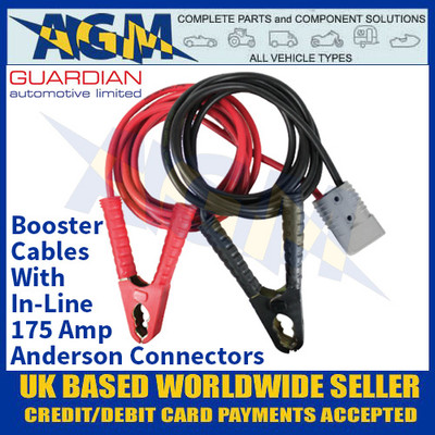 Guardian Automotive BC7 Booster Cables with In Line Anderson Connectors