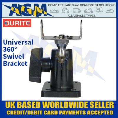 Durite 0-420-36 Universal 360° Swivel Bracket - Fits Most Work Lamps