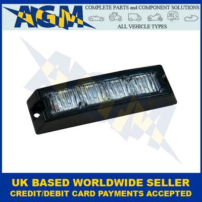 LED Autolamps SLED4DVAR65, Amber, R65, Slimline, Directional Warning Lamp