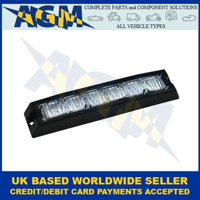 LED Autolamps SLED6DVAR65, Amber, R65, Slimline, Directional Warning Lamp