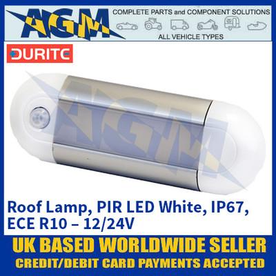 Durite 0-668-92 Roof Lamp, PIR LED White, IP67, ECE R10 – 12/24V