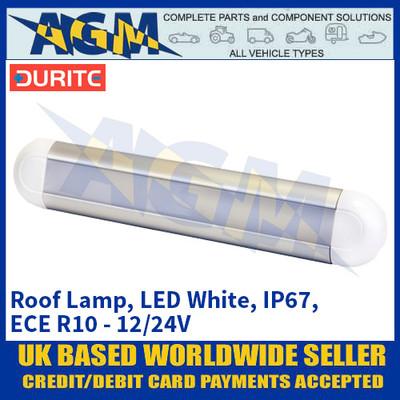 Durite 0-668-93 Roof Lamp, LED White, IP67, ECE R10 - 12/24V