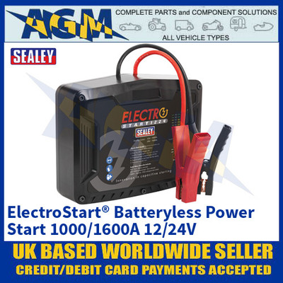 Sealey E/START1224 ElectroStart® Batteryless Power Start 1000/1600A 12/24V