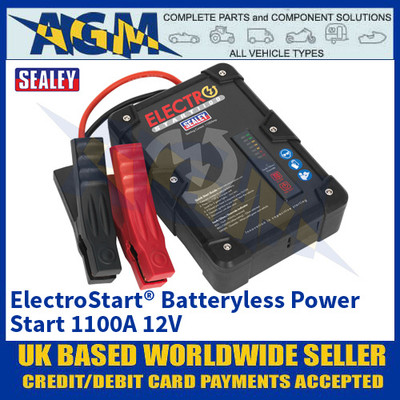 Sealey E/START1100 ElectroStart® Batteryless Power Start 1100A 12V