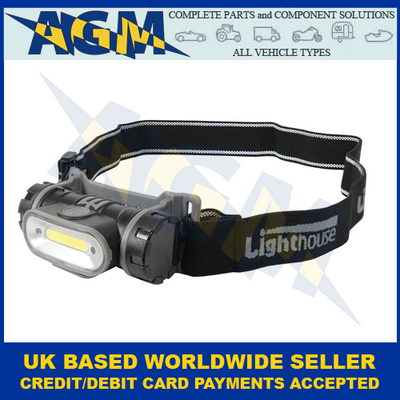 Guardian, Lighthouse HT5, Rechargeable, 3 Function, LED, Head Torch