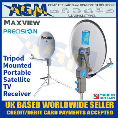 Maxview Precision, Portable Tripod Mounted Satellite TV Kit