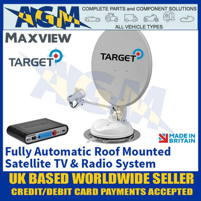 Maxview Target, Fully Automatic Roof Mounted Satellite TV & Radio System