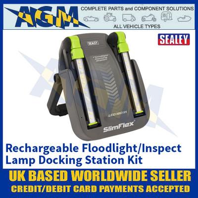 Sealey LED1801K Rechargeable Floodlight/Inspection Lamp Docking Station Kit