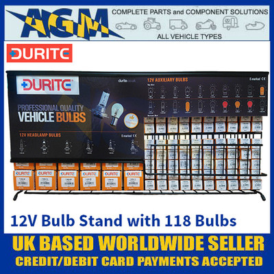 Durite 7-999-12 12 Volt Bulb Display Stand with 118 Replacement Bulbs