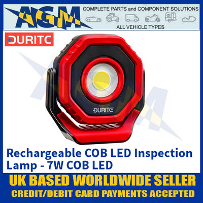 Durite 0-699-66 Rechargeable COB LED Inspection Lamp - 7W COB LED