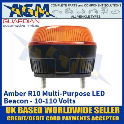 Guardian Automotive R10 Amber Multi Purpose Beacon - 10-110 Volts