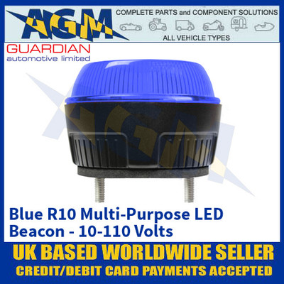 Guardian Automotive R10 Blue Multi Purpose Beacon - 10-110 Volts