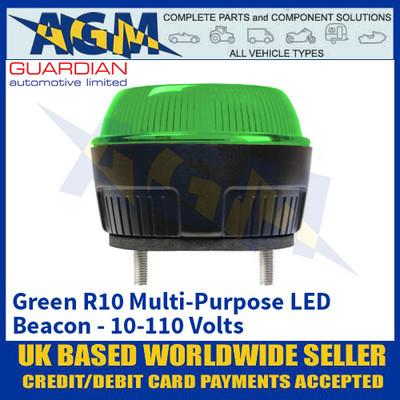 Guardian Automotive R10 Green Multi Purpose Beacon - 10-110 Volts
