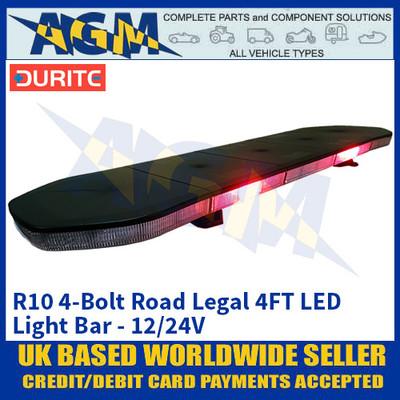 Durite 0-443-51 R10 4-Bolt Road Legal 4FT LED Light Bar - 12/24V