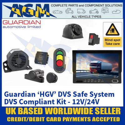 Guardian Automotive DVSK1 Guardian 'HGV' DVS Safe System - 12/24V