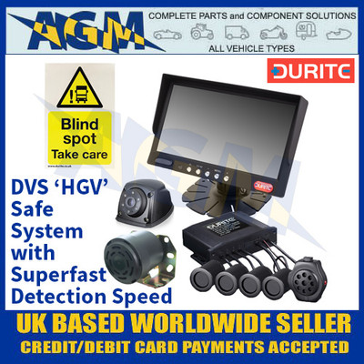 Durite 4-776-60 DVS 'HGV' Safe System with Superfast Detection Speed - 12/24V