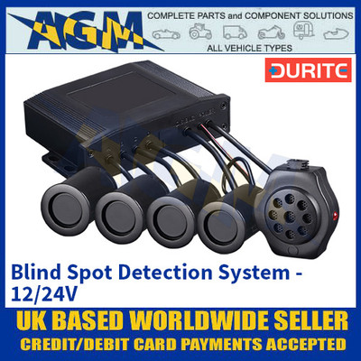 Durite 0-870-30 Blind Spot Detection System - 12/24V
