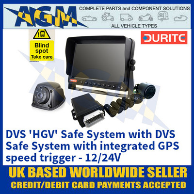 Durite 4-776-58 DVS 'HGV' Safe System with DVS Safe System with integrated GPS speed trigger