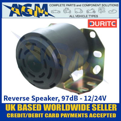 Durite 0-564-70 1080P 'This Vehicle Is Reversing' Reverse Speaker, 97dB - 12/24V