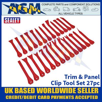 Sealey RT27KIT Trim & Panel Clip Tool Set 27pc