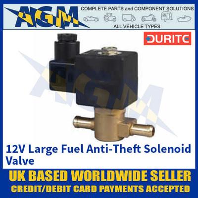 Durite 0-129-62 12V Large Fuel Anti-Theft Solenoid Valve