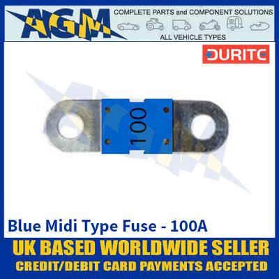 Durite 0-378-20 Blue Midi Type Fuse - 100A
