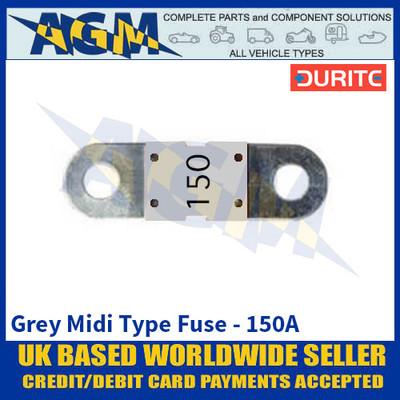 Durite 0-378-25 Grey Midi Type Fuse - 150A
