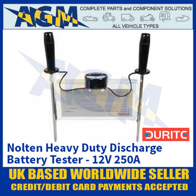 Durite 0-524-10 Nolten Heavy Duty Discharge Battery Tester - 12V 250A