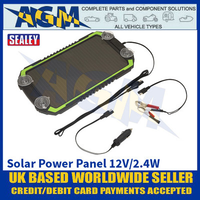 Sealey SPP02 Solar Power Panel 12V/2.4W