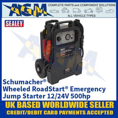 Sealey PBIW4600 Schumacher® Wheeled RoadStart® Emergency Jump Starter 12/24V 500hp