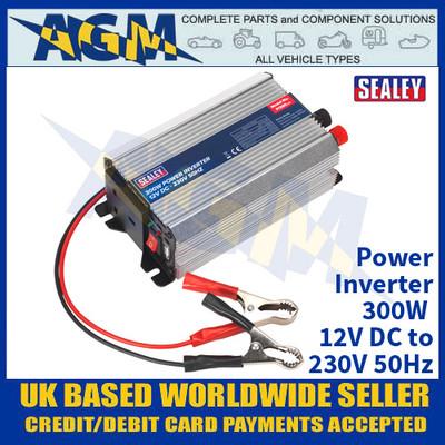 Sealey PI300 Power Inverter 300W 12V DC - 230V 50Hz