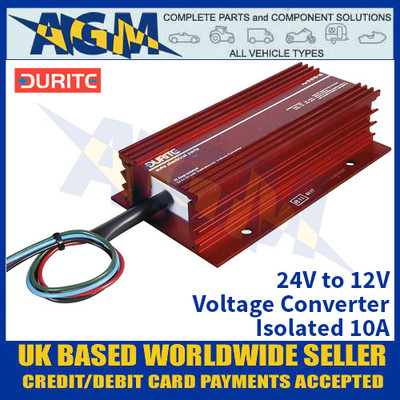Durite 0-578-10 24V to 12V Voltage Converter - Isolated 10A