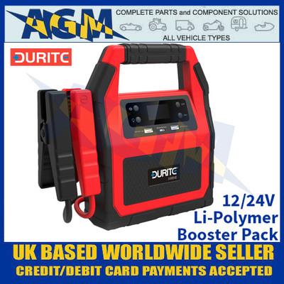 Durite 0-649-40 12/24V Li-Polymer Booster Pack