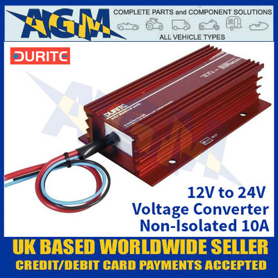 Durite 0-578-20 12V to 24V Voltage Converter - Non-Isolated 10A