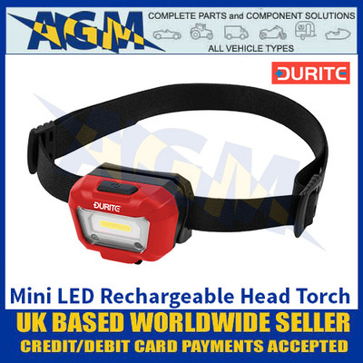 Durite 0-699-61 Mini LED Rechargeable Head Torch