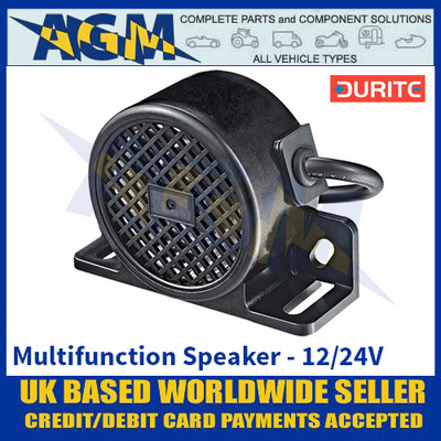 Durite 0-564-55 Multifunction Speaker - 12/24V