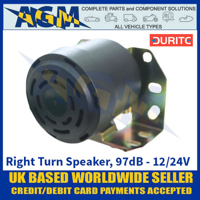 Durite 0-564-80 Right Turn Speaker, 97dB - 12/24V