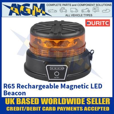 Durite 0-445-14 R65 Rechargeable Magnetic LED Beacon