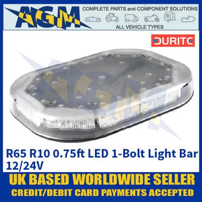 Durite 0-443-17 R65 R10 0.75ft LED 1-Bolt Light Bar - 12/24V